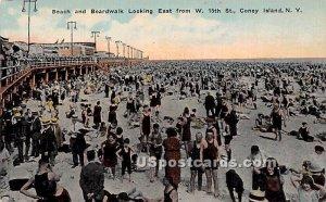 Beach, Boardwalk, Coney Island, New York