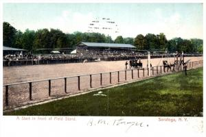 19387  NY  Saratoga  Start of Race  at Field Stand