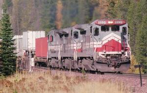 Railroads, Train - Burlington Northern #8531   railroadcards.com