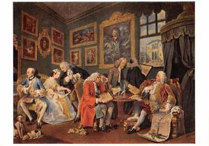 William Hogarth - Marriage Contract