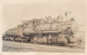 F20/ Railroad RPPC Postcard New Orleans Louisiana T&P Locomotive c40s