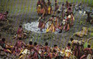 Fiji Fijian Firewalking