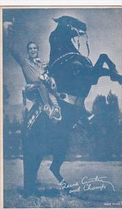 Cowboy Arcade Card Gene Autry and Champ