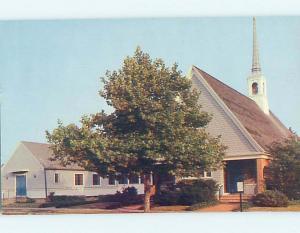Pre-1980 CHURCH SCENE Rehoboth Beach Delaware DE hs7559