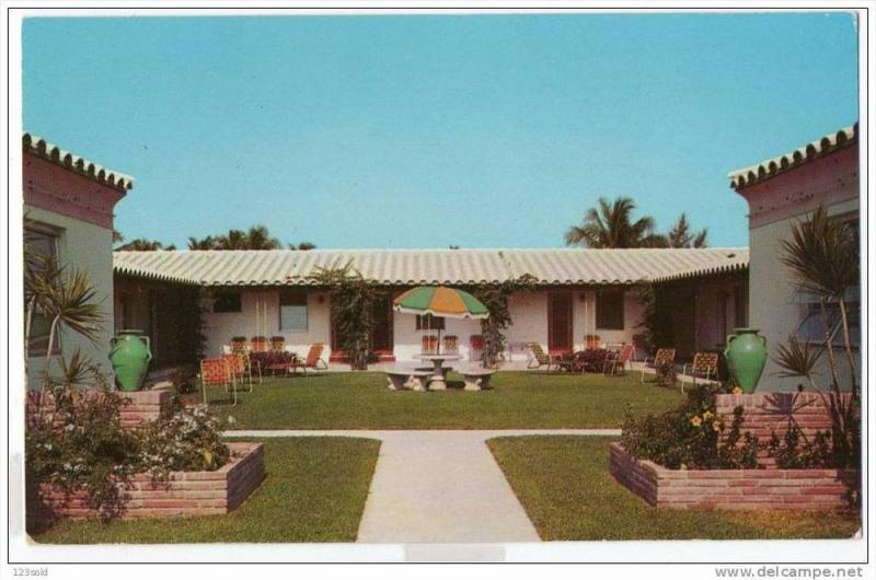 Florida - Hollywood - Hill Motel, 40-60s