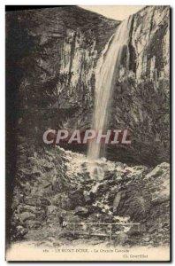 Old Postcard Le Mont Dore The Grand Cascade