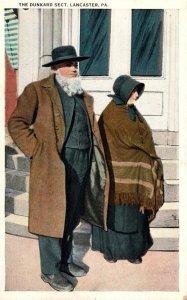 Pennsylvania Lancaster The Dunkard Sect