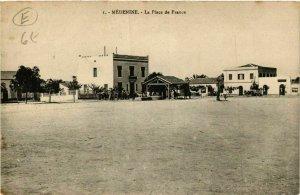 CPA AK MEDENINE La Place de France TUNISIE (748217)