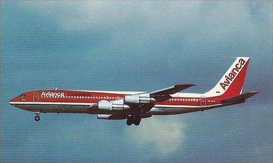 AVIANCA BOEING 707-359B HK1410