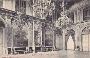 NANCY, L'Hotel de Ville - Le Salon Carre, Meurthe et Moselle, France, 00-10s