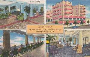 ATLANTIC CITY , New Jersey , 30-40s; Hotel Stanley, 4 views