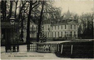 CPA Ermenonville- Entree du Chateau FRANCE (1020496)