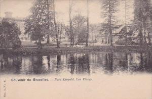 Belgium Brussells Souvenir De Bruxelles Parc Leopold Les Etangs