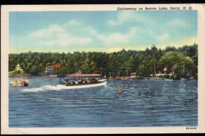 New Hampshire DERRY Sightseeing on Beaver Lake - pm1953 - LINEN