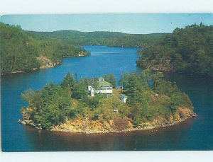 Pre-1980 AERIAL VIEW Bancroft Ontario ON AD0061