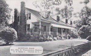 South Carolina Cheraw Boxwood Hall