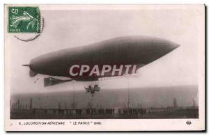 Old Postcard Jet Aviation Airship Zeppelin The Motherland
