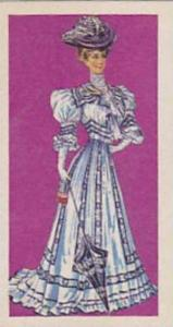 Brooke Bond Vintage Trade Card British Costume 1967 No 41 Lady's Day Dress Ci...