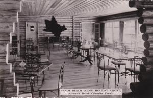 RP; Sandy Beach Lodge , Holiday Resort, Interior, NARAMATA , B.C., Canada , 30-4