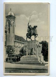 192212 Uruguay MONTOVIDEO Gaucho monument TRAM Vintage photo
