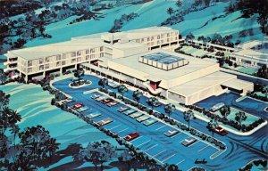 FNPR09 Aerial View Ryder Memorial Hospital Humacao Puerto Rico Art Deco Postcard