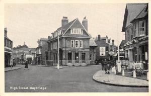Weybridge High Street, with Greetings