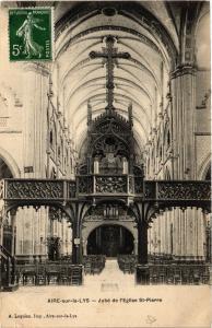 CPA AK AIRE-sur-la-LYS Jubé de l'Église St-Pierre (414472)