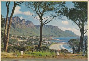 South Africa Camps Bay On The Atlantic Coast Cale Peninsula