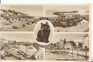 Kent Postcard - Good Luck from Ramsgate - Ref 14105A