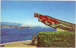 Dragon's Head, Stanley Park, Vancouver, British Columbia, BC, chrome