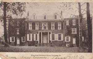 Wheatland, Buchanan Home, Lancaster, Pennsylvania, PU-1906