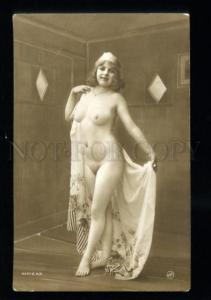 135540 NUDE Woman Plump BELLE Vintage PHOTO JA #69 PC