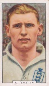 Clifford Bastin Arsenal Football Club Exeter 1930s Cigarette Card