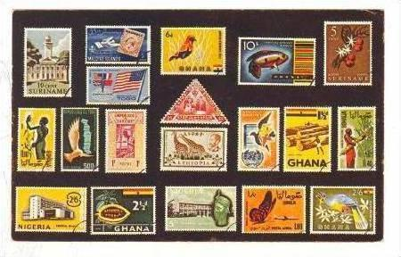 Stamps of Ghana, 40-60s