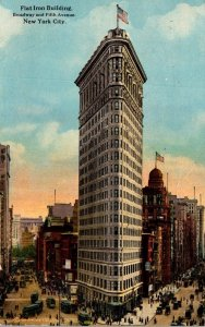 New York City Flat Iron Building 1921