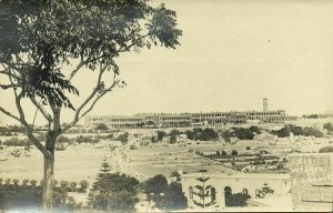 malta, MTARFA L-IMTARFA, Panorama with Clock Tower (1910s) RPPC Postcard