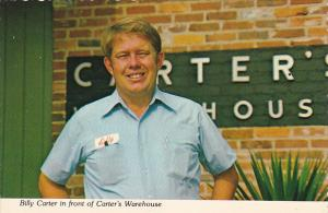Billy Carter In Front Of Carter's Warehouse Plains Georgia