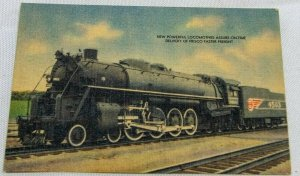 Vintage Frisco Fast Freight Linen Postcard Unposted AMAZING CONDITION