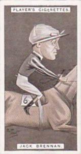 Player Vintage Cigarette Card Racing Caricatures 1925 No 7 Jack Brennan