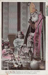 Santa Claus Postcard Old Vintage Christmas Post Card 1909