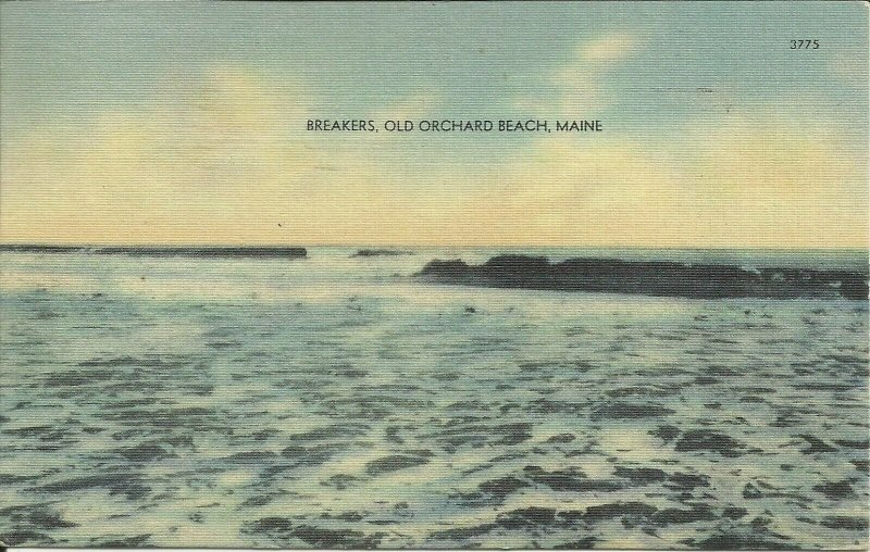 Breakers, Old Orchard Beach, Maine