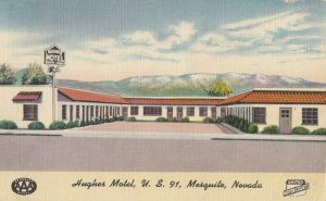 MESQUITE , Nevada, 1930-40s ; Hughes Motel