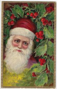 CHRISTMAS; Red Suit Santa Claus , 00-10s #1