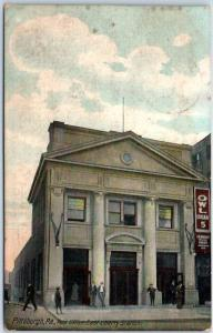 Pittsburgh, Pennsylvania Postcard Post Office, East Liberty Station c1910s