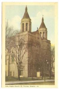 Holy Angels Church, St. Thomas, Ontario, Canada, PU-1948