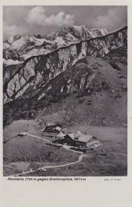 Hochalm, 1705m Gegen Dreitorspitze, 2674m, Germany, 1910-1920s