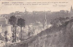 Fraance Fougeres L'Eglise Saint-Sulpice 1926