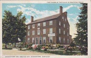 Kentucky Shakertown Shakertown Inn