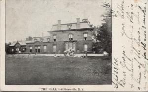 The Hall Gilbertsville NY New York c1905 Postcard E42