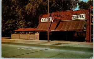 Vintage New York Postcard THE TAVERN Restaurant & Bar Route 45 Roadside 1960s